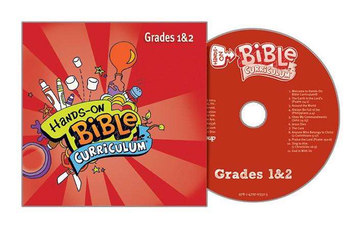 Hands-On Bible Grades 1&2 CD Spring 2018 (CD-Audio)