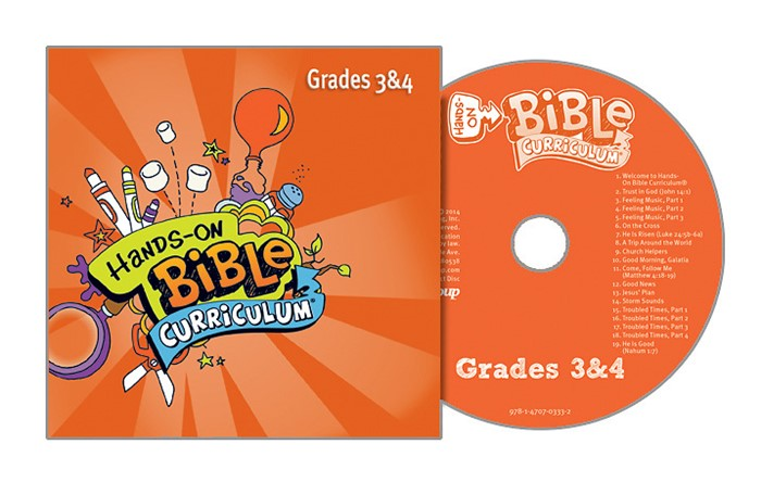 Hands-On Bible Grades 3&4 CD Spring 2018 (CD-Audio)