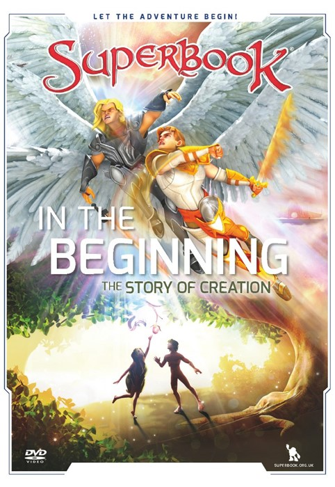 Superbook: In The Beginning DVD. (DVD)