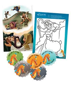 Preschool Tide Pool Bible Play Pack (General Merchandise)