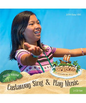 VBS Castaway Sing And Play Music Leader Version CD Set (CD-Audio)