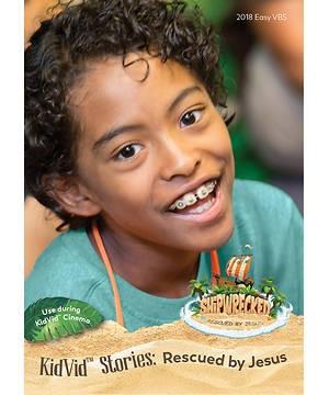 VBS KidVid Stories: Jesus Rescues DVD (DVD)