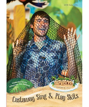 VBS Castaway Sing And Play Skits DVD (DVD)