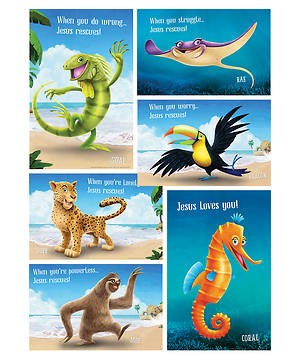 VBS Bible Point Posters (Set of 5) (Poster)