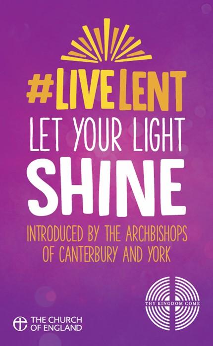 #Live Lent: Let Your Light Shine (Pack of 50) (Paperback)