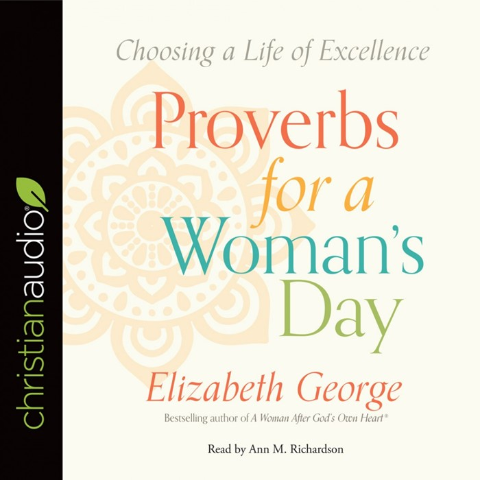 Proverbs For A Woman's Day Audio Book (CD-Audio)
