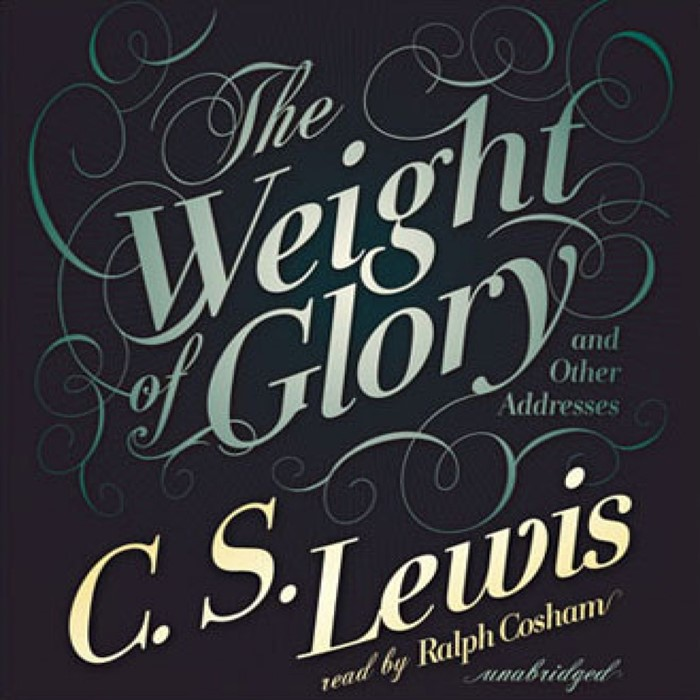 The Weight Of Glory Audio Book (CD-Audio)