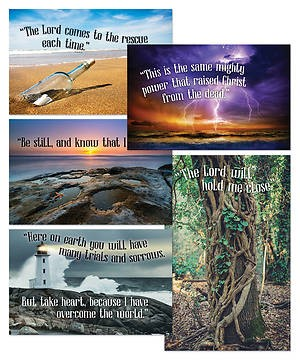 VBS Bible Verse Posters (Pack of 5) (Poster)