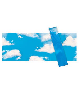 VBS Sky And Clouds Plastic Backdrop (Poster)