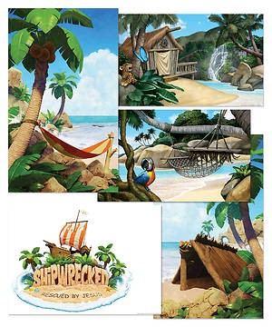 VBS Giant Decorating Poster Pack (Pack of 5) (Poster)