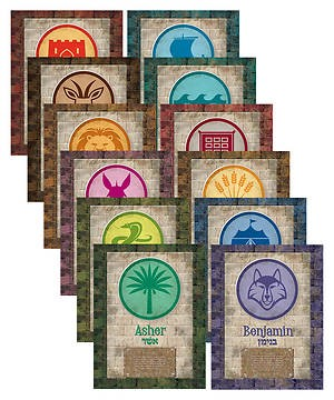 VBS Babylon Tribe Names Poster Pack (Pack of 12) (Poster)
