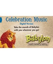 VBS Babylon Celebration Music Download Card (MP3 CDs)