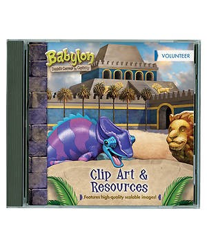 VBS Babylon Clip Art And Resources CD (CD-Audio)
