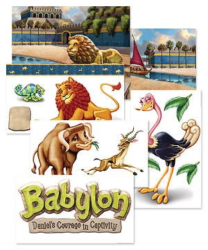 VBS Babylon Giant Decorating Posters (Poster)
