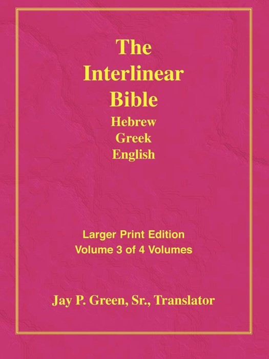 Larger Print Bible-Il-Volume 3 (Paperback)