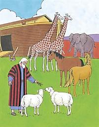 Puzzle: Noah Obeyed God (Game)