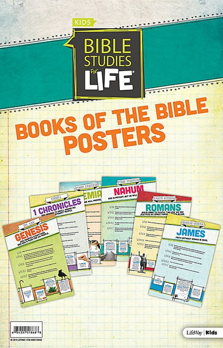 Bible Studies for Life: Kids Books of the Bible Posters (Poster)