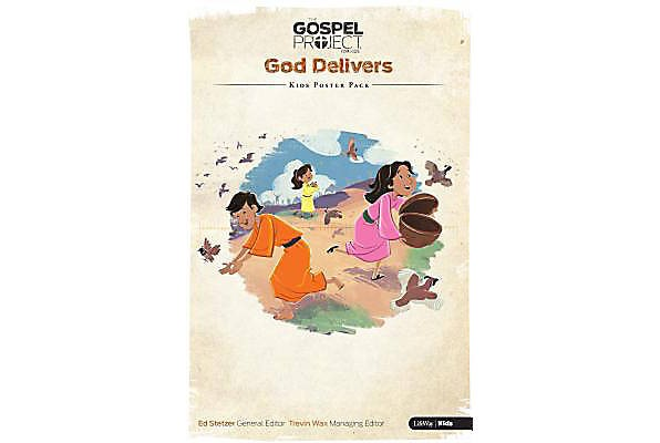 Gospel Project For Kids: Poster Pack, Winter 2016 (Poster)