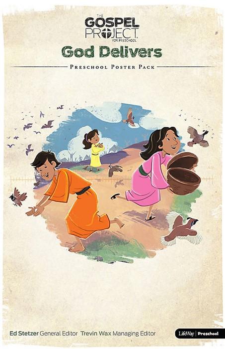 Gospel Project For Preschool: Poster Pack, Winter 2016 (Poster)