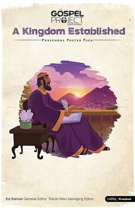 Gospel Project For Preschool: Poster Pack, Summer 2016 (Poster)