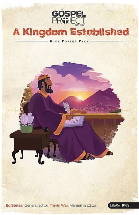 Gospel Project For Kids: Poster Pack, Summer 2016 (Poster)