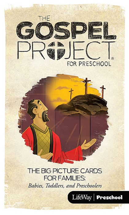 Gospel Project For Preschool: Big Picture Cards, Fall 2016 (Cards)