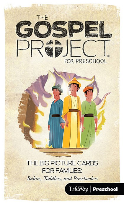 Gospel Project For Preschool: Big Picture Cards, Winter 2017 (Cards)