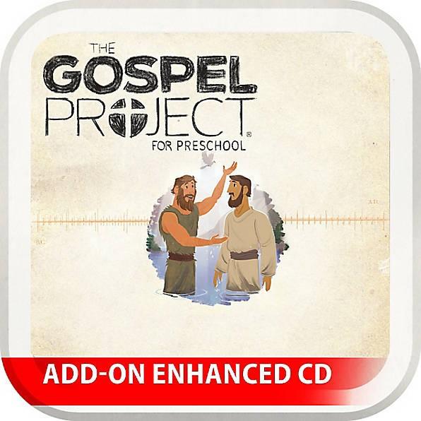 Gospel Project: Preschool Leader Kit Add-On CD, Spring 2017 (CD-Audio)