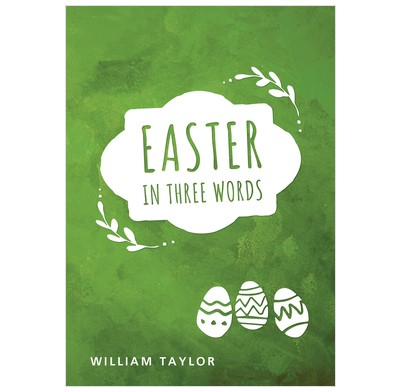 Easter In Three Words (Pamphlet)
