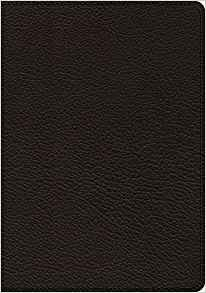 ESV Heirloom Study Bible (Goatskin, Black) (Leather Binding)