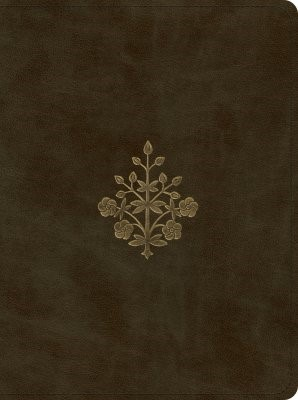 ESV Proverbs: Daily Wisdom (TruTone, Olive, Branch Design) (Imitation Leather)