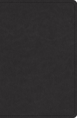 ESV Preaching Bible (Goatskin, Black) (Leather Binding)