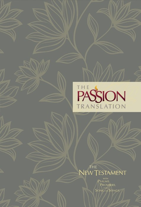 Passion Translation New Testament, Floral, 2nd Edition (Hard Cover)