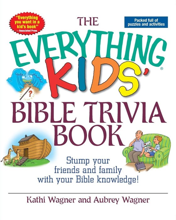 The Everything Kids' Bible Trivia Book (Paperback)