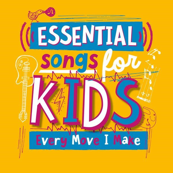 Essential Songs For Kids CD (CD- Audio)