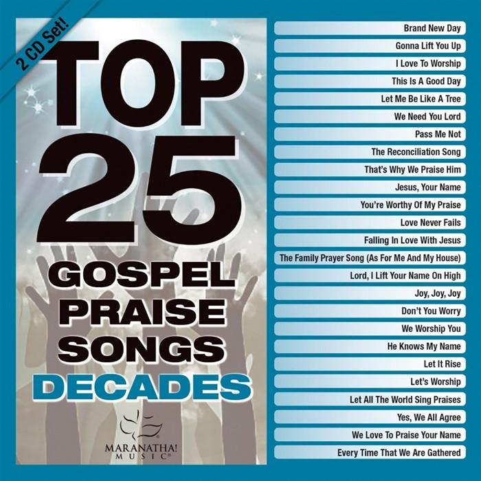 Top 25 Gospel Praise Songs Decades CD (CD-Audio)