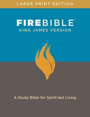 KJV Fire Bible, Large Print (Hard Cover)