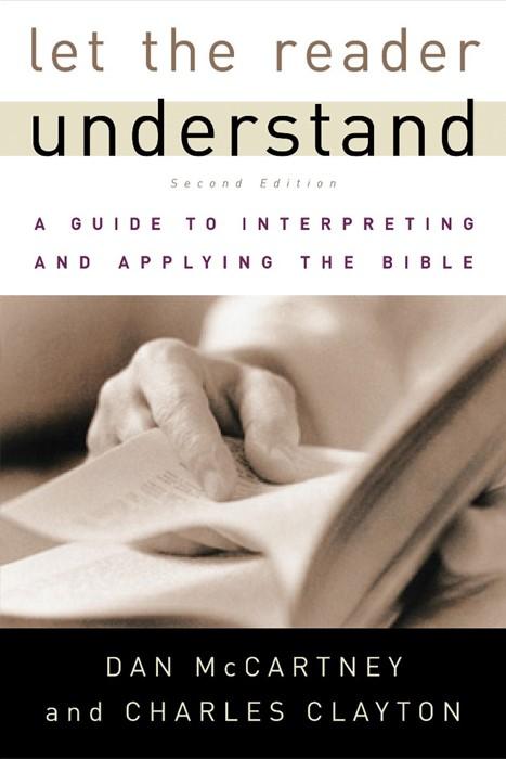 Let the Reader Understand (Paperback)