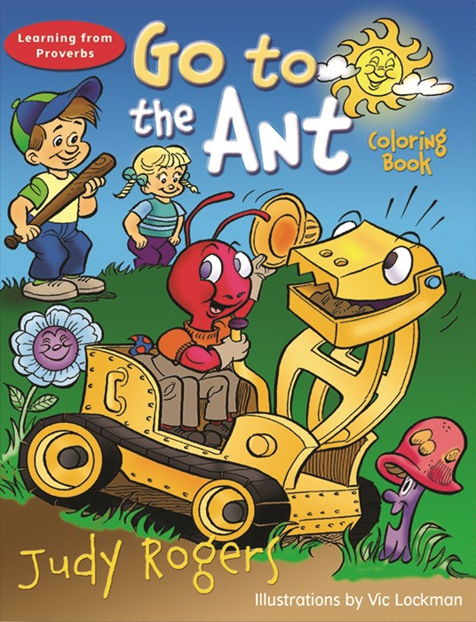Go to the Ant Coloring Book (Paperback)