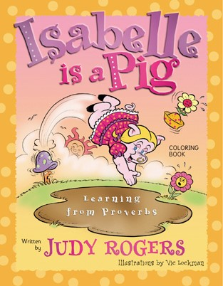Isabelle is A Pig Coloring Book (Paperback)
