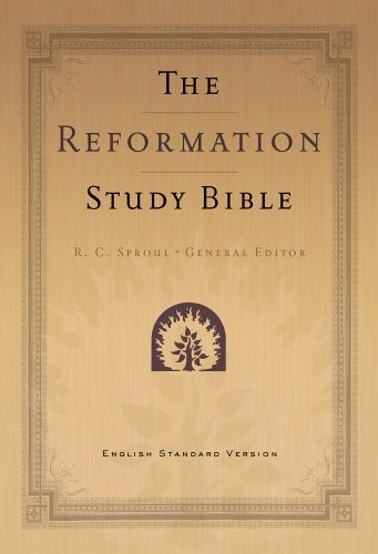 Reformation Study Bible-ESV-Black Leather (Paperback)
