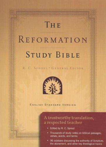 Reformation Study Bible-ESV-Burgundy Lthr (Paperback)