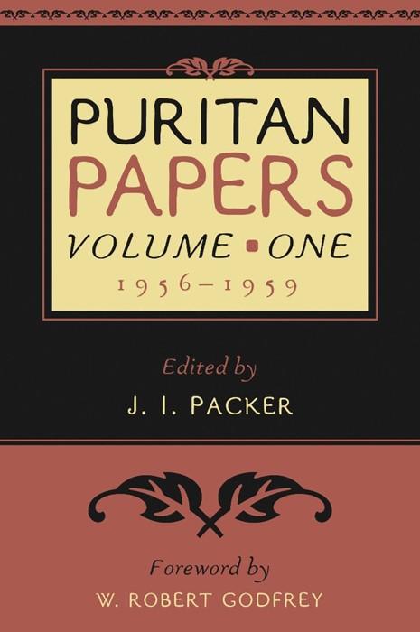 Puritan Papers: Vol. 1, 1956-1959 (Paperback)