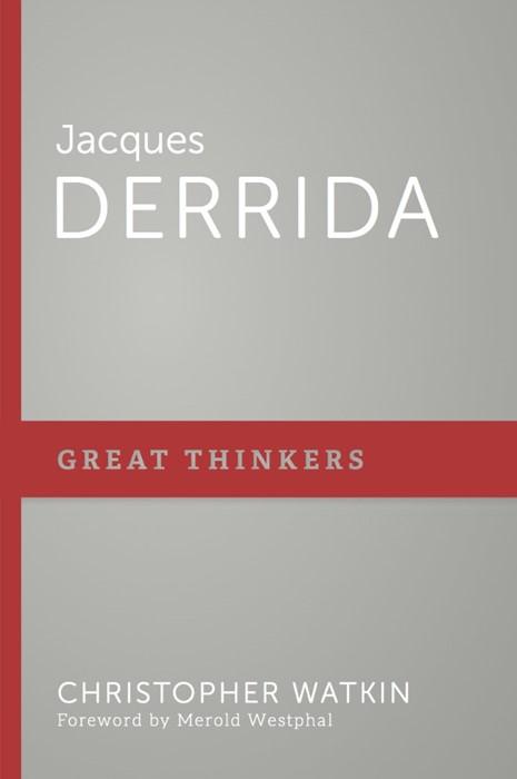 Jacques Derrida (Paper Back)