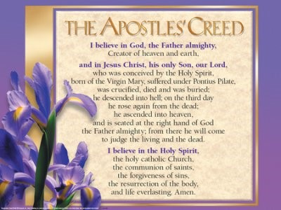 Apostle's Creed Laminated Wall Chart (Wall Chart)