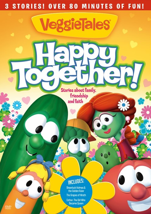 Veggies Tales: Happy Together DVD (DVD)