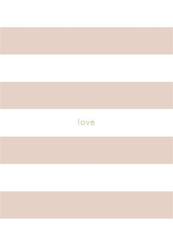 A5 Notebook Pink Striped (Hard Cover)