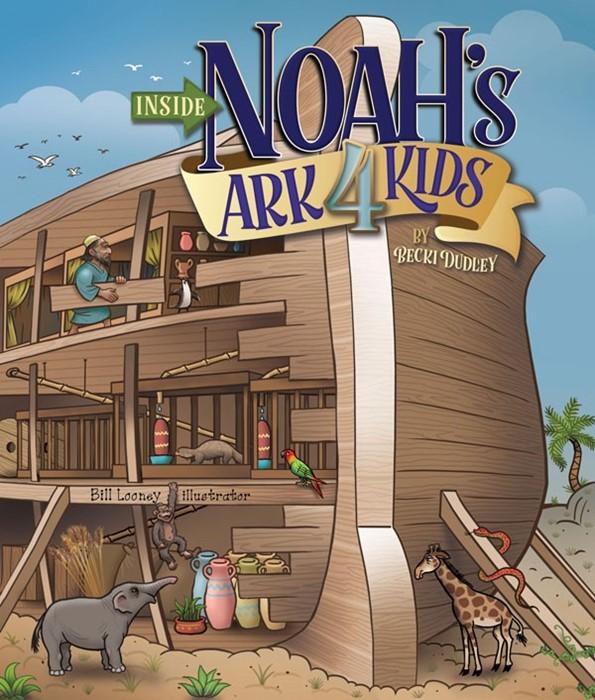 Inside Noah's Ark 4 Kids (Board Book)