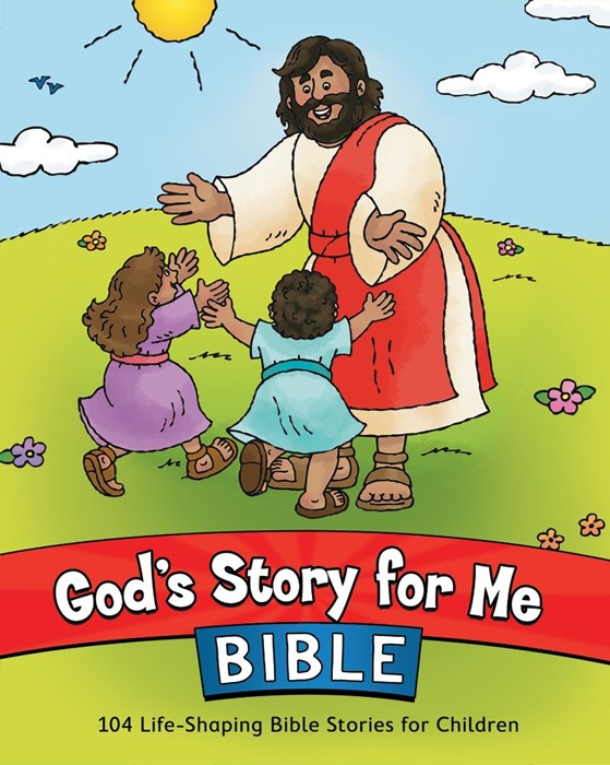 God's Story For Me Bible (Hard Cover)