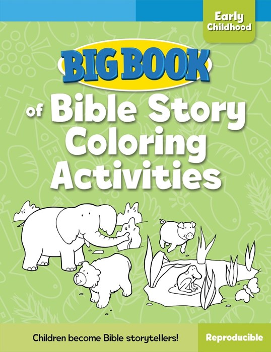 Big Book Of Bible Story Colouring Activities (Paper Back)
